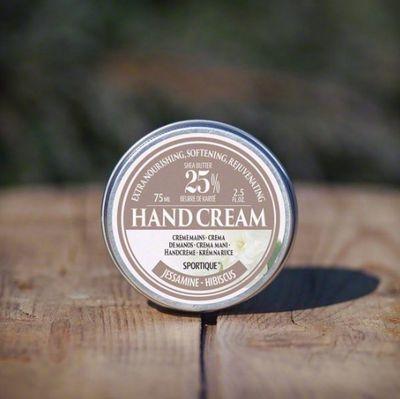 SPORTIQUE krém na ruce, jasmín 75ml