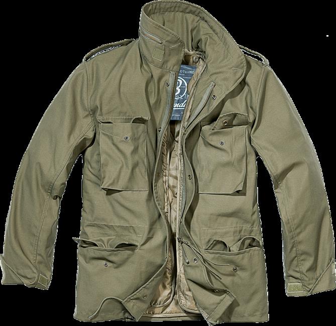 Brandit M65 Classic přechodná bunda, olivová - L