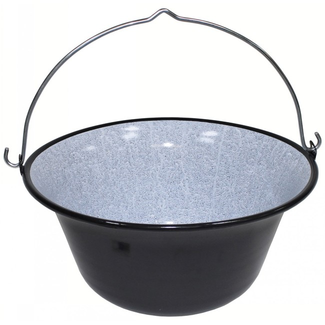MFH smaltovaný kotlík na guláš, 14 litrů