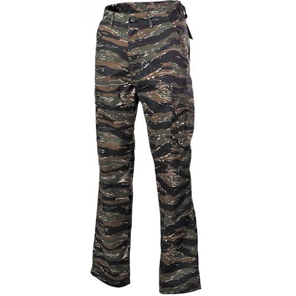 MFH US BDU kalhoty pánské tiger stripe - 3XL