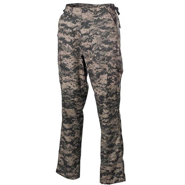 MFH US BDU kalhoty pánské AT-digital - 3XL