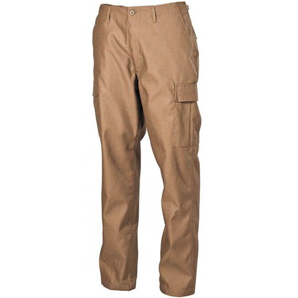 MFH US BDU kalhoty pánské coyote tan - 3XL