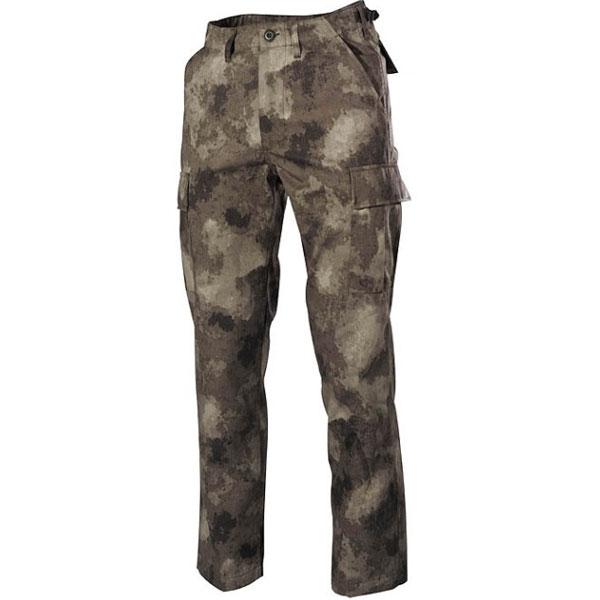 MFH US BDU kalhoty pánské HDT-camo - 3XL
