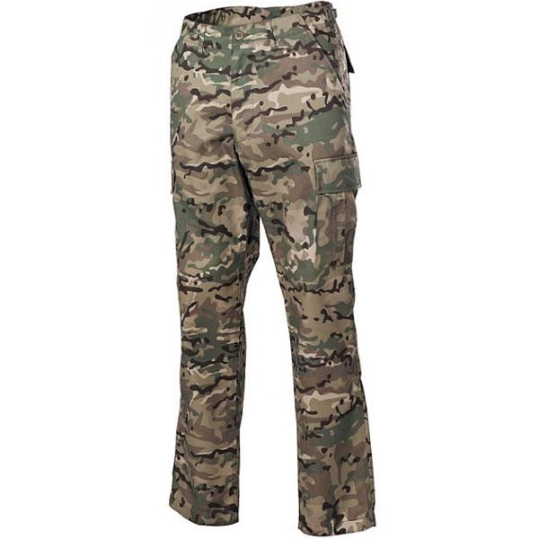 MFH US BDU kalhoty pánské operation-camo - 3XL