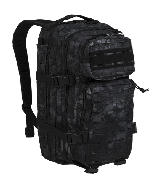 Mil-Tec batoh US Assault Small Laser Cut, mandra night 20L