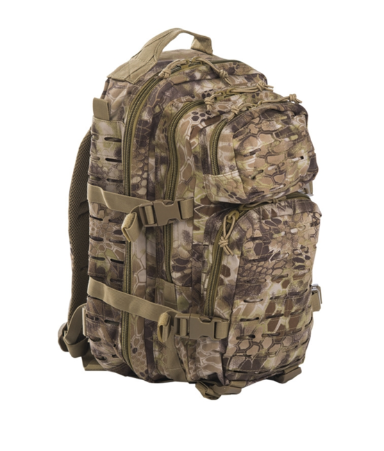 Mil-Tec batoh US Assault Small Laser Cut, mandra tan, 20L