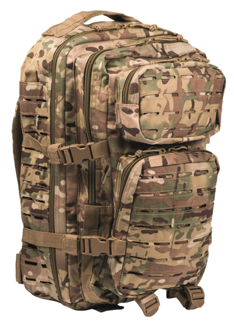 Mil-Tec batoh US Assault Large Laser Cut, multitarn, 36L