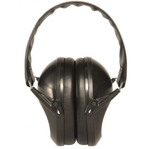 Mil-tec sluchátka proti hluku, černé