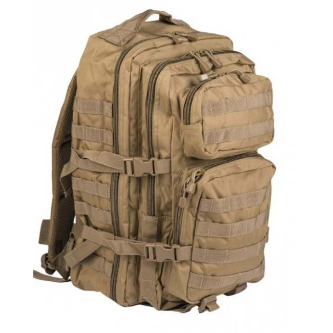 Mil-Tec US assault Large batoh Coyote, 36L