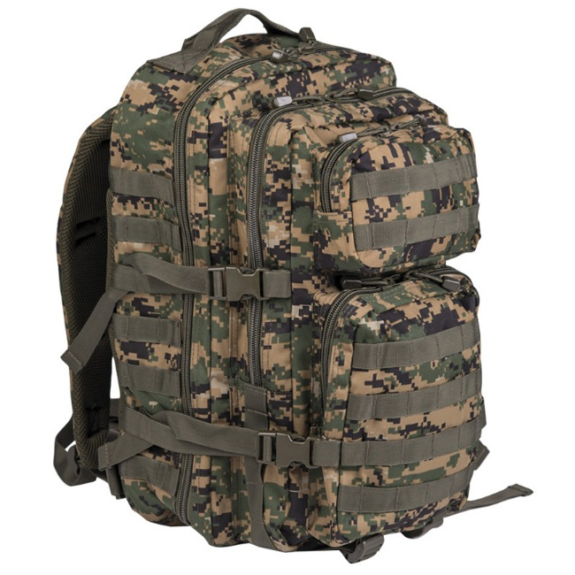 Mil-Tec US assault Large batoh Digital woodland, 36L