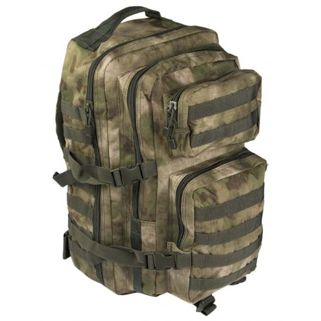 Mil-Tec US assault Large batoh HDT-camo FG, 36L