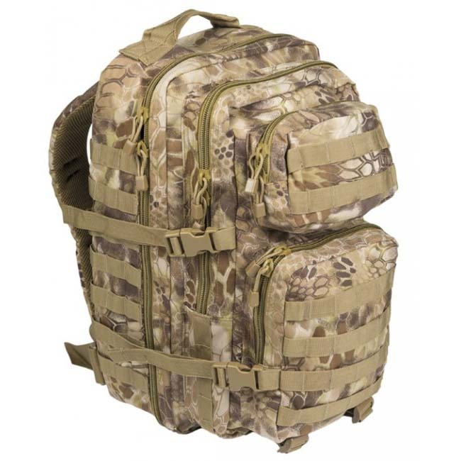 Mil-Tec US assault Large batoh Mandra tan, 36L