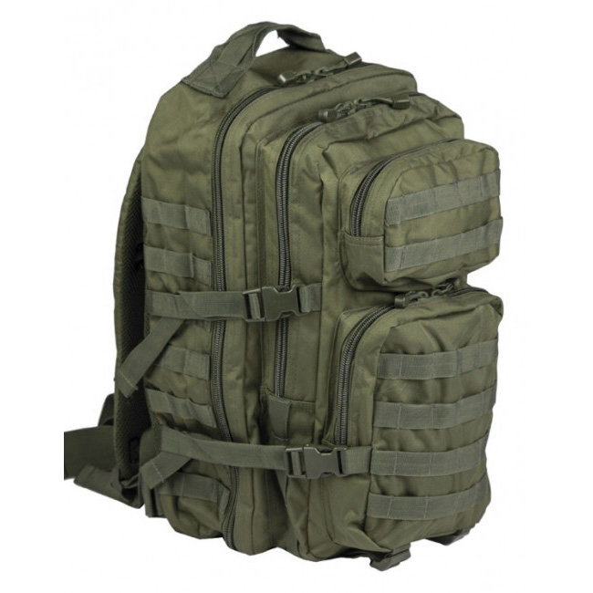 Mil-Tec US assault Large batoh Olivový, 36L