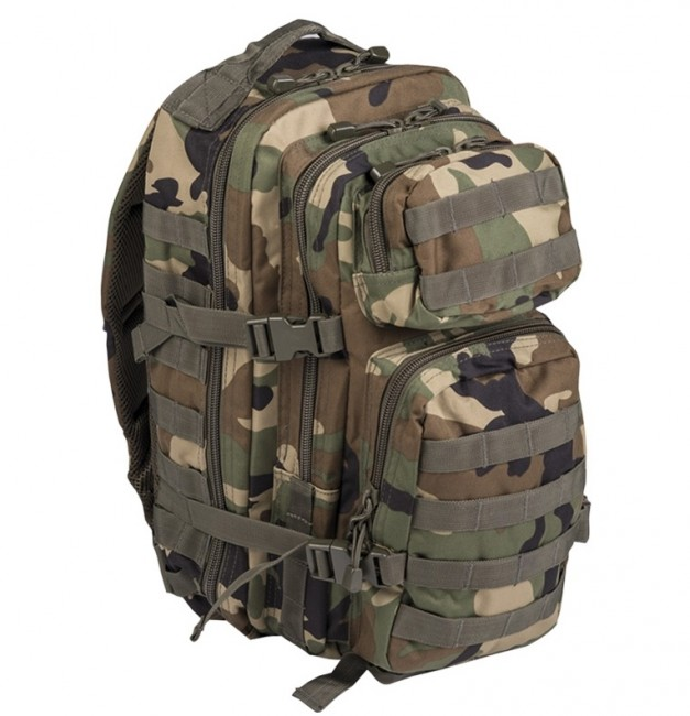 Mil-Tec US assault Small ruksak woodland, 20L