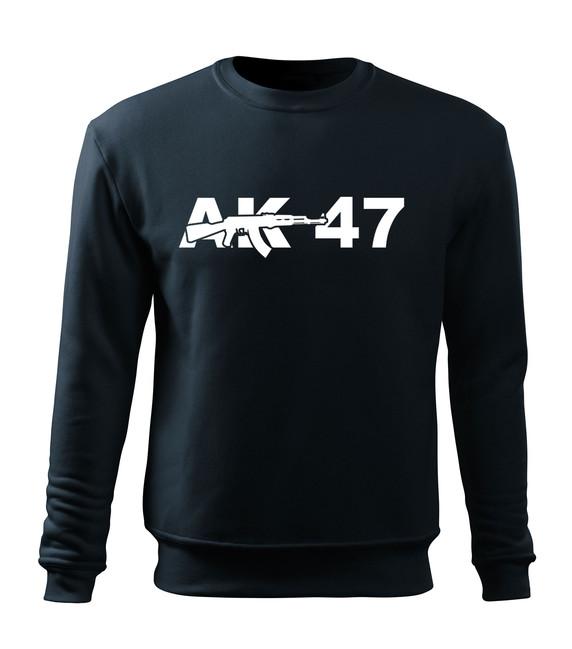 O&T Dětská mikina AK47, tmavě modrá - 5/6let