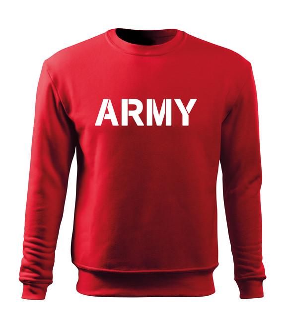 O&T Dětská mikina Army, červená - 5/6let