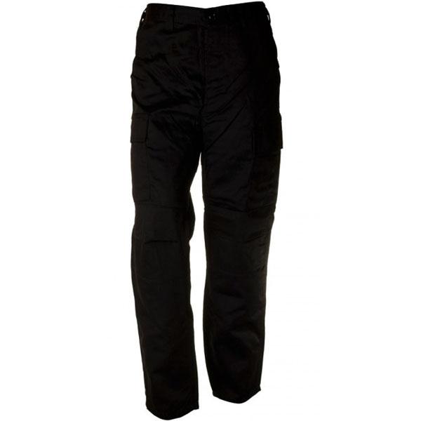 Pánské kalhoty BDU, sbs černé - 3XL