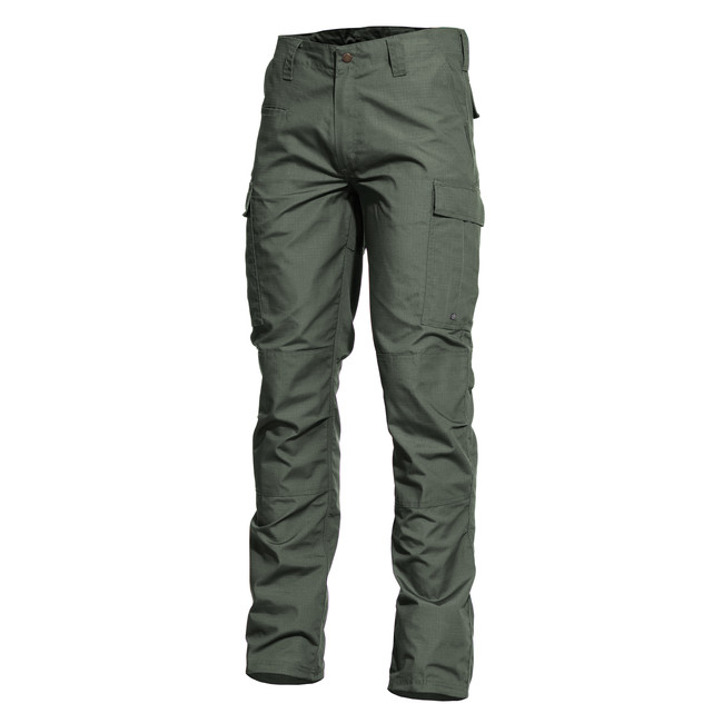 Pentagon BDU kalhoty 2.0 Rip Stop , camo green - 44