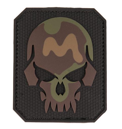 Mil-tec 3D nášivka Skull, camo