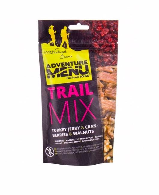 Adventure Menu Trail Mix Cranberry, Turkey jerky, Wallnuts 100 g