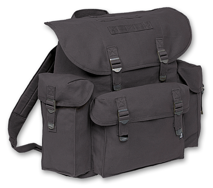 Brandit BW batoh, černý, 40L
