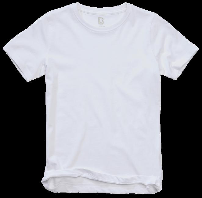Levně Brandit dětské tričko s krátkým rukávem, bílá - 170/176