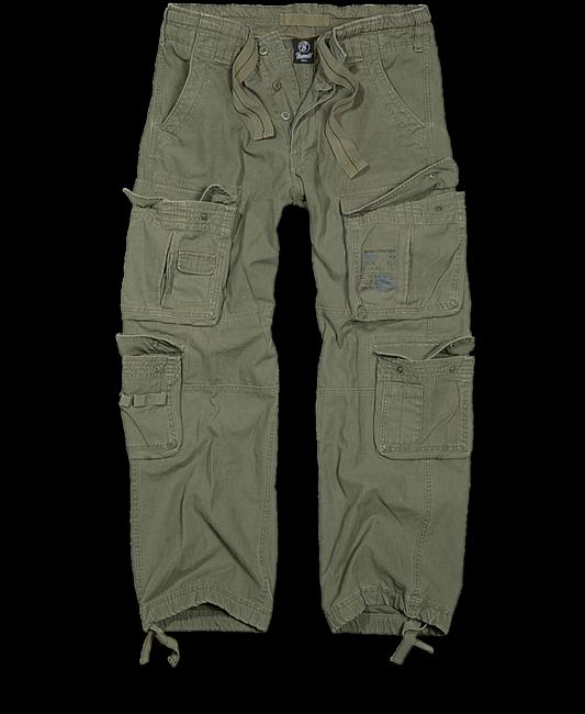 Levně Brandit Pure Vintage kalhoty, olivové - 3XL