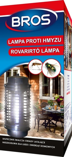 Bros Lampa proti hmyzu, 4W