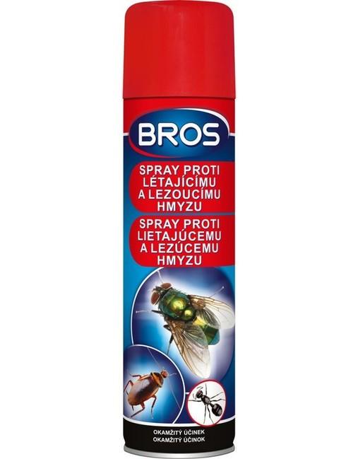 Bros sprej proti létajícímu a lezoucímu hmyzu 400 ml