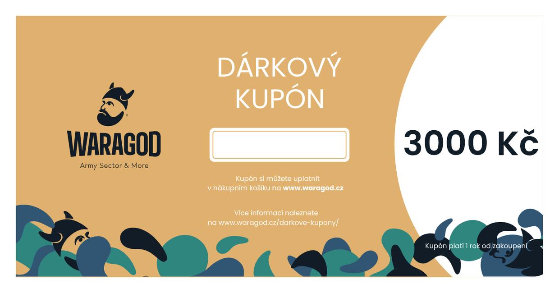 Dárková poukázka - 3000 KČ