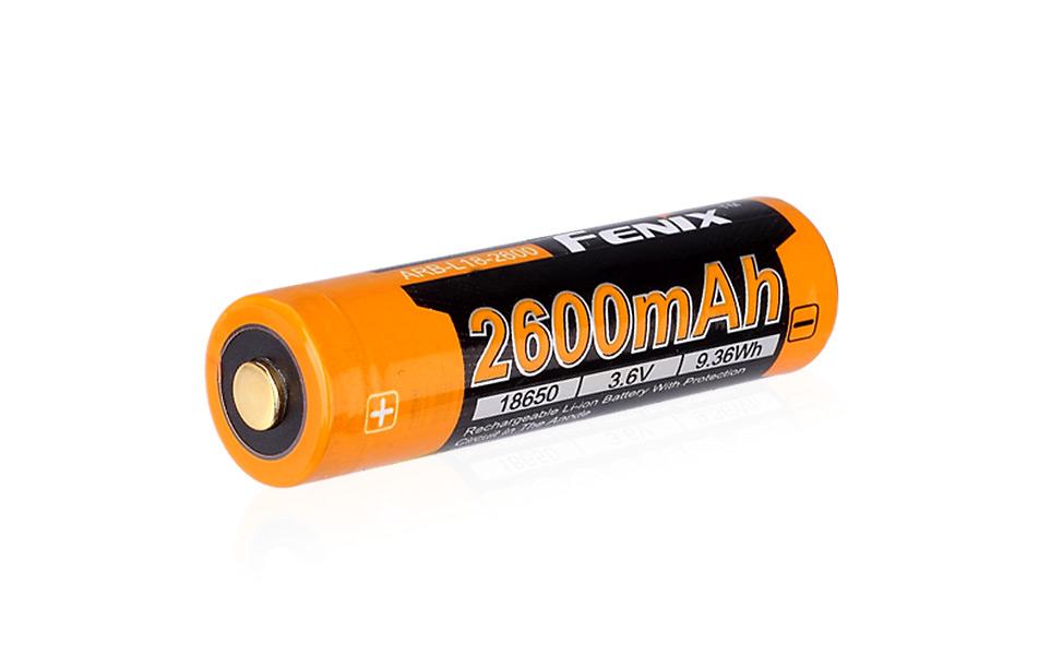 Dobíjecí batérie Fenix 18650 2600 mAh Li-Ion