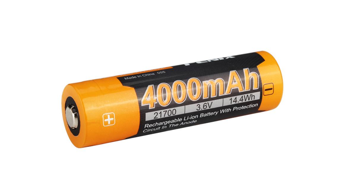 Dobíjecí batérie Fenix 21700 4000 mAh Li-Ion