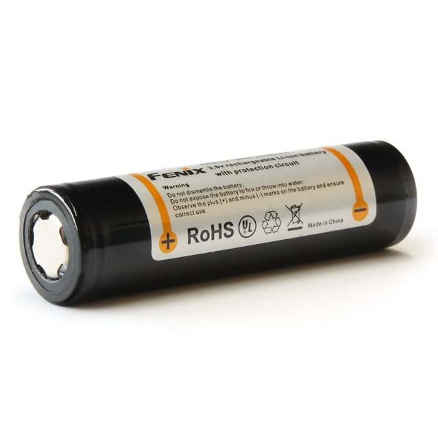 Fenix nabíjecí baterie 18650 2600 mAh, Li-Ion