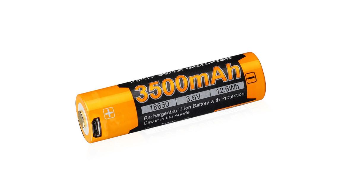 Fenix USB nabíjecí baterie 18650 ,3500 mAh Li-Ion