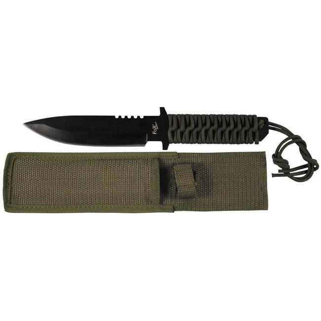 Fox Outdoor celokovový vrhací nůž
