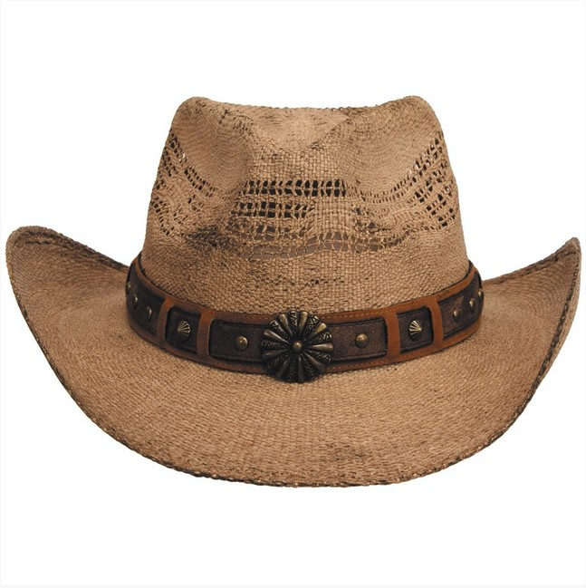 Fox Outdoor klobouk slaměný Colorado, hnědý