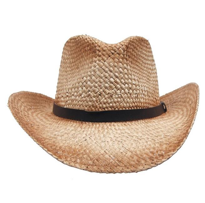 Fox Outdoor klobouk slaměný, hnědý