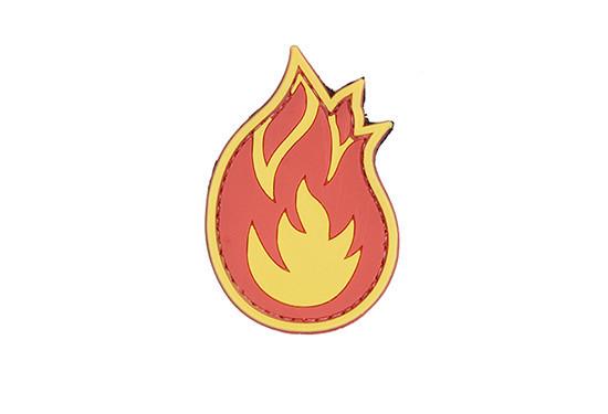GFC Tactical nášivka Flame, 4 x 6cm