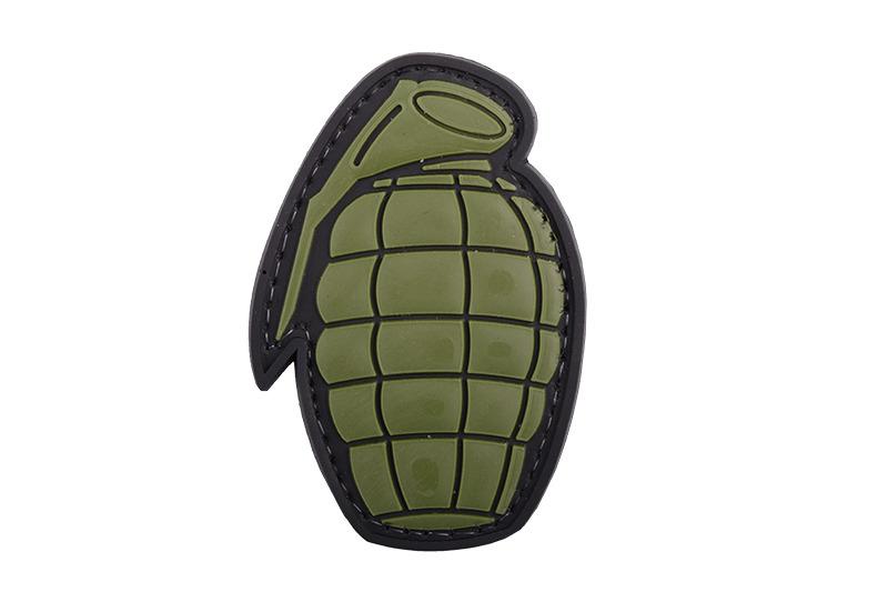 GFC Tactical nášivka Grenade, 4,5 x 6,5cm