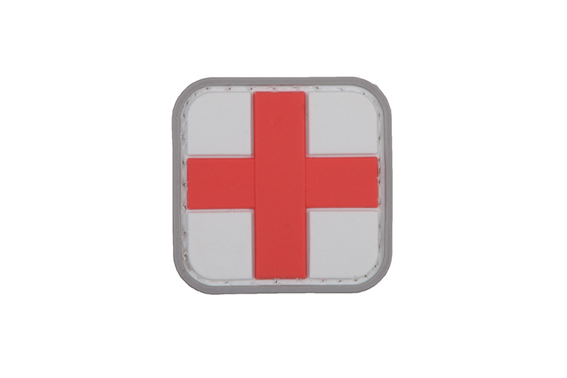 GFC Tactical nášivka Medic, bílá, 3 x 3cm