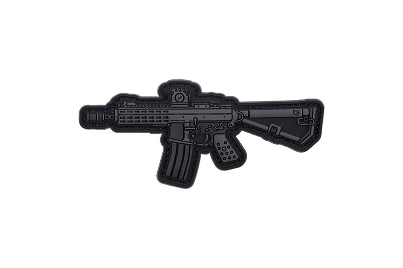 GFC Tactical nášivka PDW Compact, čierna, 7,8 x 3,5cm