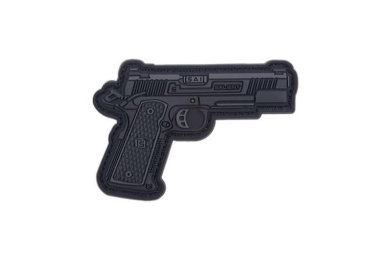 GFC Tactical nášivka RED 1911, čierna, 6,5 x 4,5cm