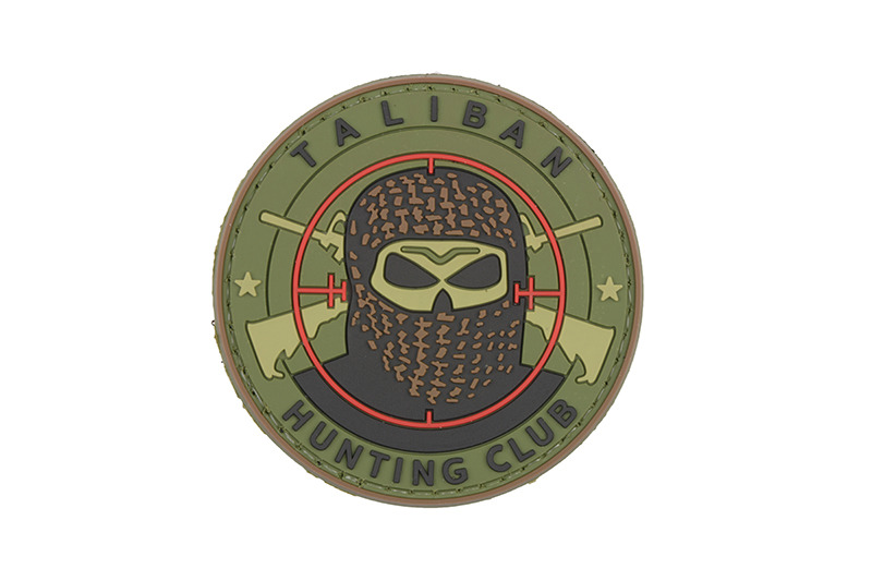 GFC Tactical nášivka Taliban Hunting Club, olive, 6cm