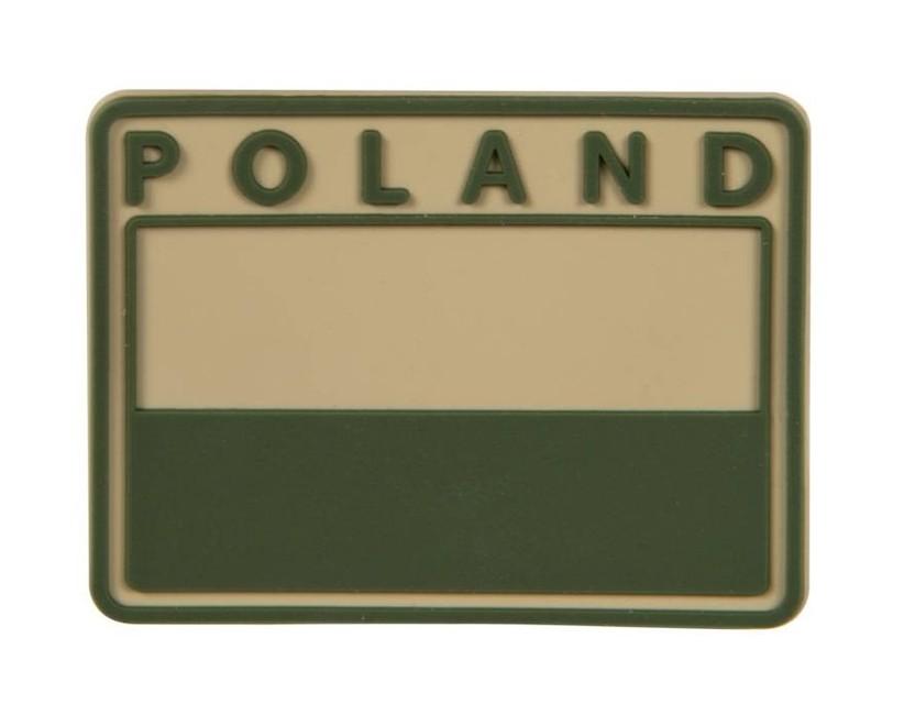 Helikon-Tex nášivka 3D Polsko 5,5x4cm khaki