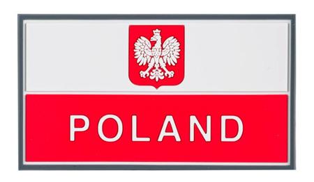 Helikon-Tex nášivka 3D Polsko 9x5cm červená