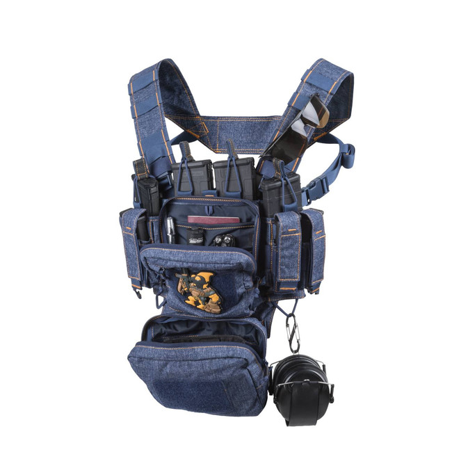 Helikon-Tex Taktická Vesta Training Mini Rig®, blue melange