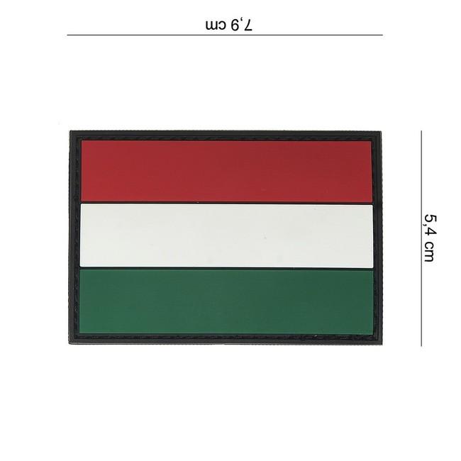 M-Tramp PVC nášivka Hungary