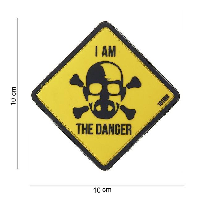 """M-Tramp PVC nášivka, """"I am the danger"""""""