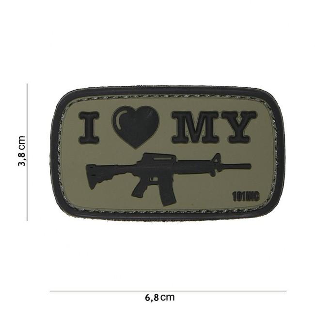 M-Tramp PVC nášivka ILMS M4