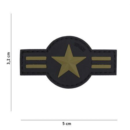 M-Tramp PVC nášivka US Air Force